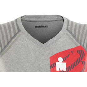 Compressport Ironman 2017 Running Shirt Damen cool grey